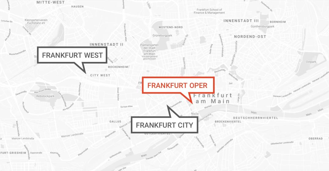 MAP: Brera Frankfurt Opera